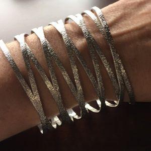 NWOT Silver bracelet